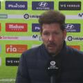 """Diego Simeone: """"Kiedy piłka się toczy, nie liczy się zimno, deszcz ani..."""