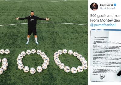 Luis Suarez strzelił 500. gola w karierze! Urugwajczyk zamieszcza PORUSZAJĄCY WPIS w mediach społecznościowych